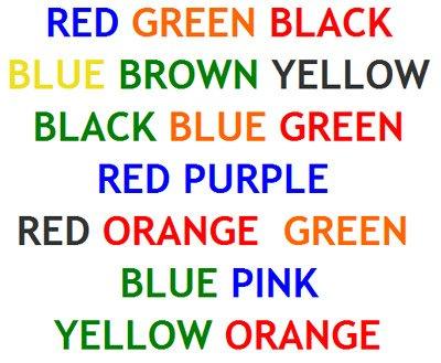 barvni test