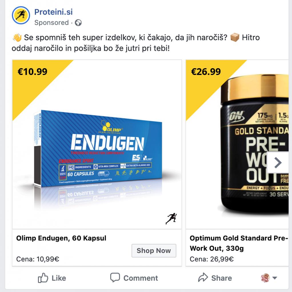 remarketing ali ponovno trženje na facebooku