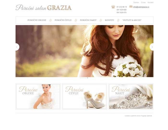 izdelava spletne strani za poročni salon
