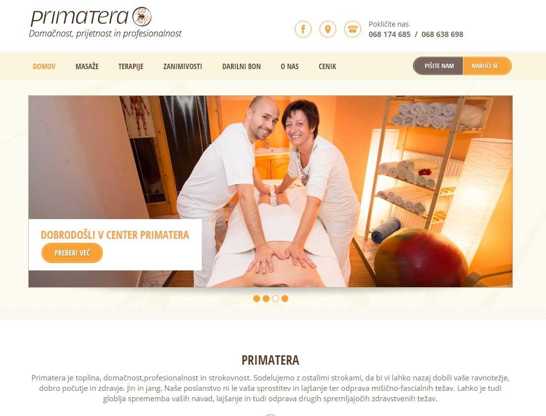 izdelava spletne strani za masažni salon