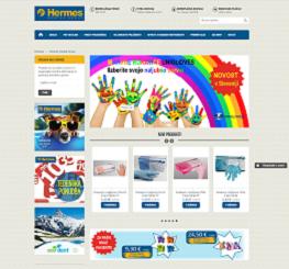 odzivna spletna trgovina Hermes Dental