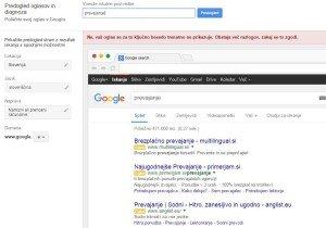 google adwrods, google adwrods orodje, google adwords oglas