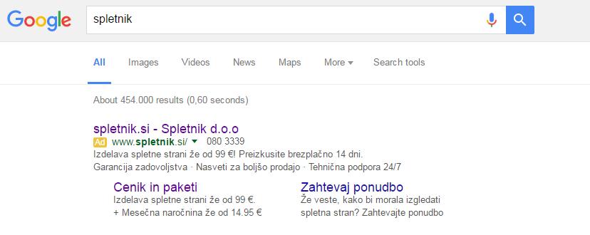 google oglaševanje, oglaševanje na googlu, povečajobisk, spletno oglaševanje, prva stran googla, zakup ključnih besed