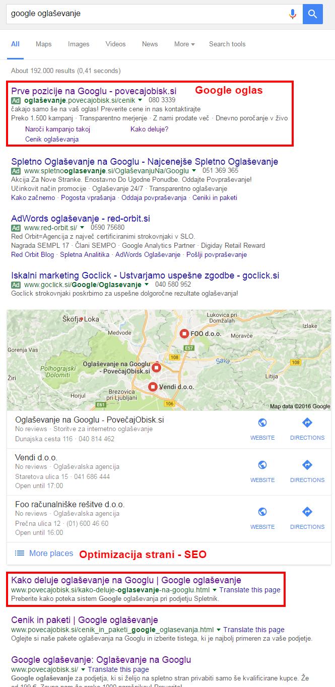 google oglaševanje, zakup ključnih besed, optmizacija, optimizacija strani, seo, seo za iskalnike, google oglasi, oglaševanje na googlu, google in optmizacija, optimizacija spletne strani