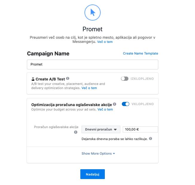 Optimizacija instagram oglasov za uspešno oglaševanje