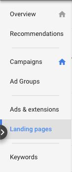 google adwords nadzorna plošča