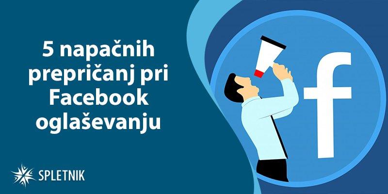 Facebook oglaševanje napake