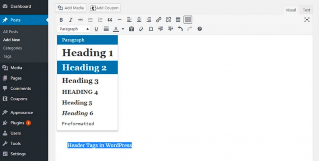 Urejanje meta naslovov v WordPressu z izbiro sloga