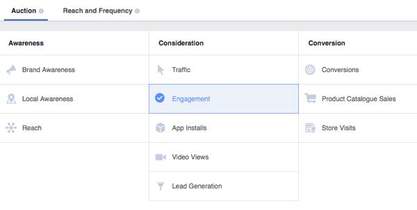 strateško facebook oglaševanje omogoča natačno izpolnjevanje ciljev