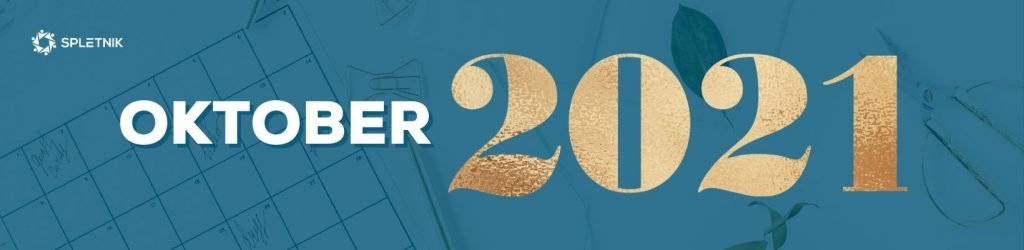 Spletnik marketing koledar 2021 - Oktober