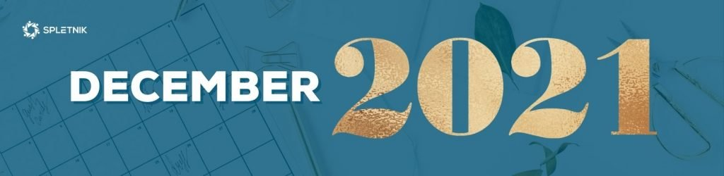 Spletnik marketing koledar 2021 - December