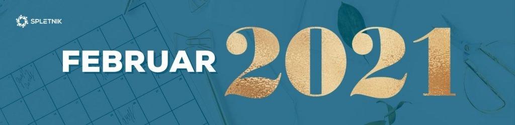 Spletnik marketing koledar 2021 - Februar
