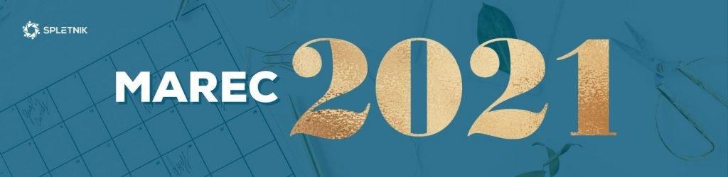 Spletnik marketing koledar 2021 - Marec