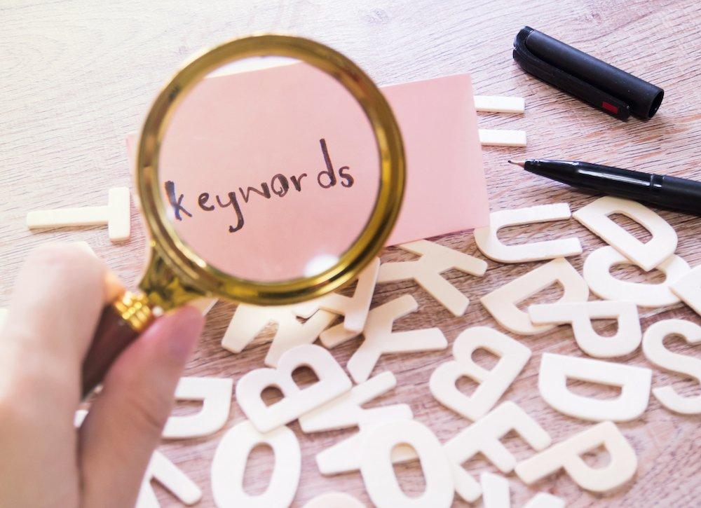 Uporabite samo pomembne ključne besede - Spletnik blog