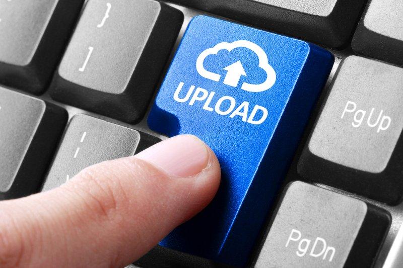 Nalaganje vsebine na splet