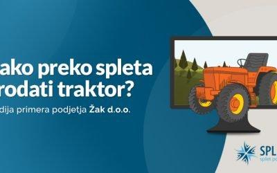 Kako preko spleta prodati traktor?