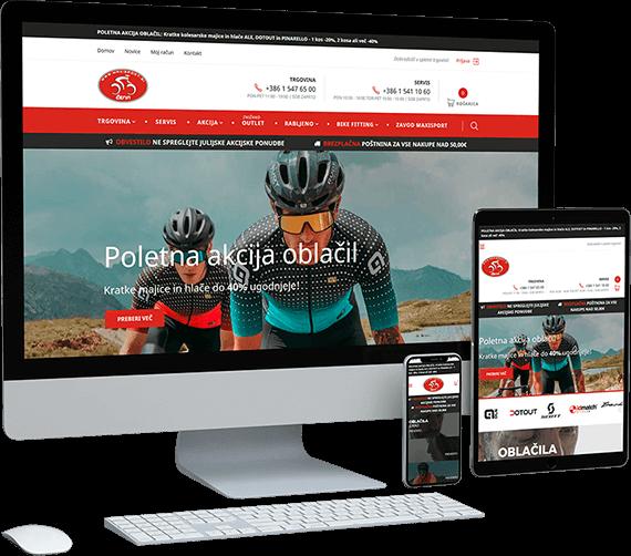 Spletna trgovina Maxisport Čerin