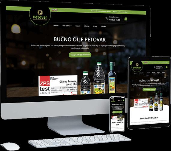 Spletna trgovina Oljarna Petovar