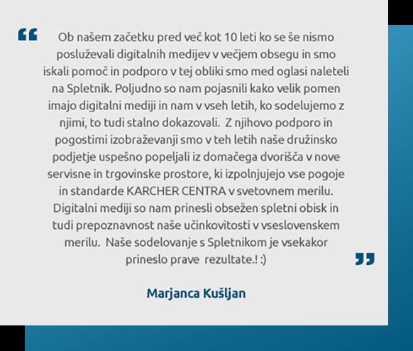 Študija primera: Kärcher Kušljan d.o.o.