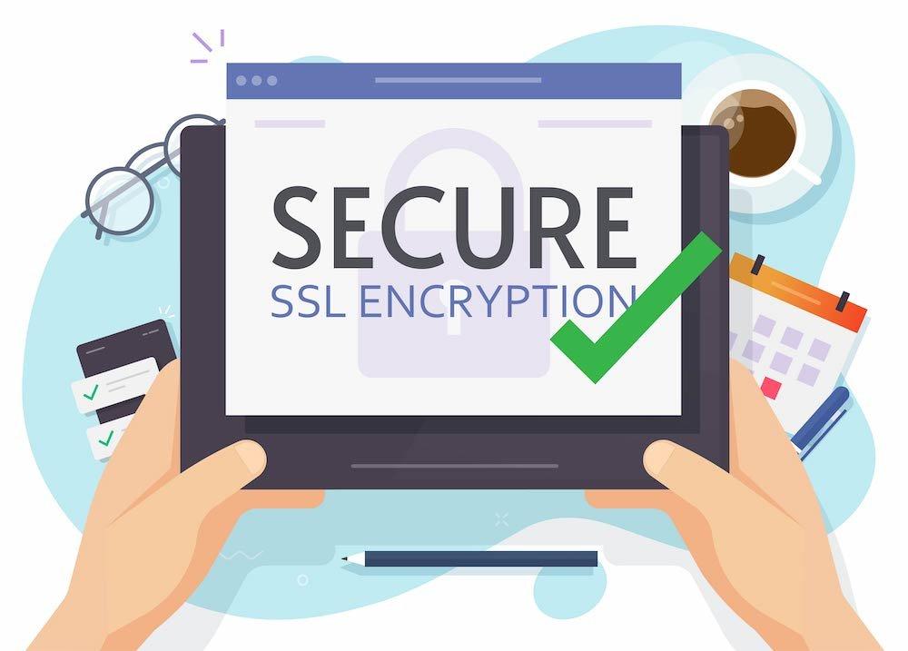 SSL Secure Encryption - Spletnik blog