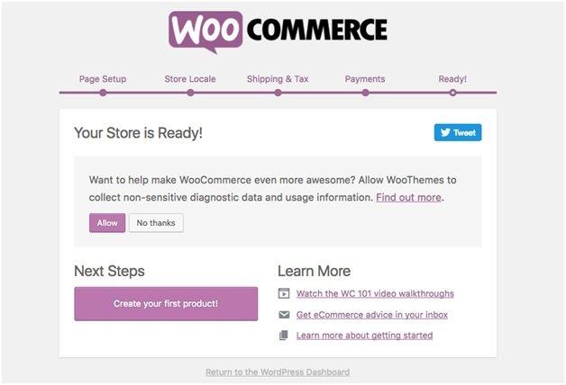 Konfiguracija WooCommerce