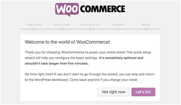 Namestitev WooCommerce